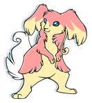 ...pogheys...Audino by Rainbow-Cemetery