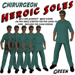 Chirurgeon Green Ad by BarbaraTeebrook