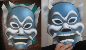 Blue Spirit Mask by paperart