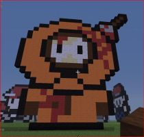Kenny south park Minecraft by yoshisonicteam