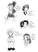 Shaman King Sketches by beanchan