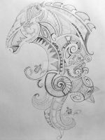 Maori Tattoo WIP by blueangel1122