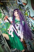 high school of the dead Saeko2 by shuichimeryl