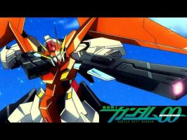 Gundam 00 Wallpaper by NellaLeafNinja