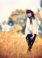 Pirouetting Autumn by maximaxi13