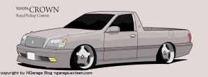 Toyota Crown Pickup 2 by ngarage