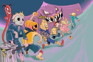 March of Fright by P-RO