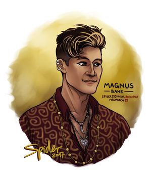 Magnus Bane by spider999now