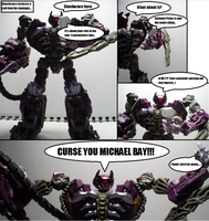 Shockwave's reaction is bad... by Lugnut1995