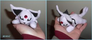 Espeon Palm Plush by Monkiki62