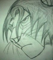 Quick Sketch: Simba by InkArtWriter