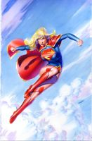 Supergirl Commission by mikemayhew