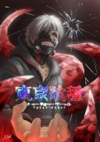 Tokyo Ghoul by chawanat