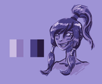 Colour Palette challenge: Korra by Elsendor