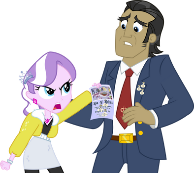 LoE Aftermath: Filthy Rich and Diamond Tiara by ImperfectXIII