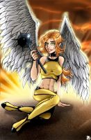 Hawkgirl by MachSabre