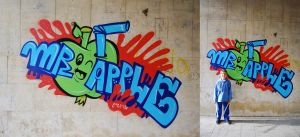 mr Apple by omanu