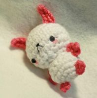 Pink Bunny 01 by tinyowlknits