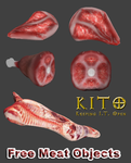 Free Meat Objects by Some-Art