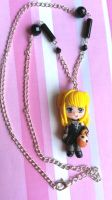 Handmade Death Note necklace charm by SimonaZ