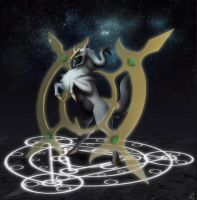 Lord Arceus by Legend13