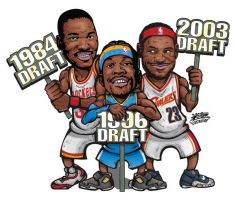 NBA DRAFT by kwangki