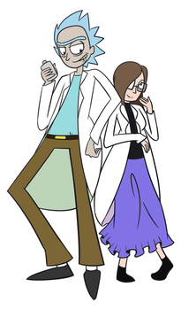 Rick and Morty - thelolitapopsicle by StarriiChan