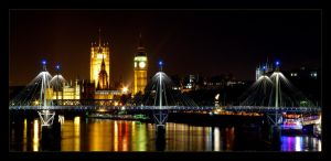 living in london IV by ornie