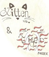 Kitten And Tiger Tat by Miss-Chievous-Love