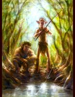 Fishing in the Jungle by ConejoBlanco