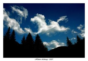 Dancing Horse in the Sky by Hubzay