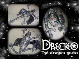 Drecko the Dragon Gecko by eugeal