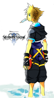 Kingdom Hearts 2- Sora by reyestsubasa18