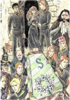 DH Snape's funeral by cabepfir