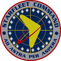 Star Trek TOS Starfleet Command Crest Redesigned by viperaviator