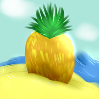 Pineapple by PuddingzWolf