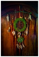 'Magic of the Forest' dreamcatcher by erzsebet-beast