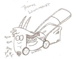 Thomas Lawnmower by Dalton709