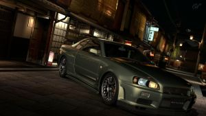 Gran Turismo 5- Initial D! Pt. 2 by Not-A-Guest