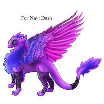 Navi Dash Dragon Griffin by Ravenskysong