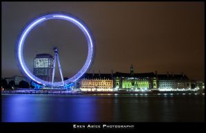 London Eye by erenabice