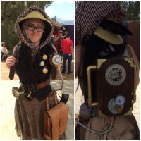time traveling archaeologist Adelaide Song by GonzoTheGrey