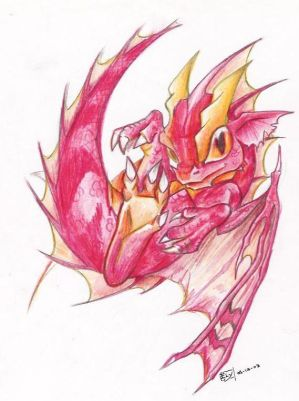 AVATAR POUR TOUS Baby_red_dragon_by_Edheloth