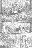 Red Sonja Annual 3 by crisbolson