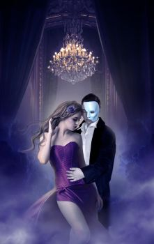The Phantom of the Opera by Yosia82