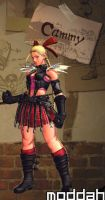 SFTK PC Cammy Alt. Costume backport from xbox360 by moddah