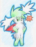 Shaymin-Excuse me? by FENNEKlNS