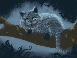 Cheshire cat by Hatchey