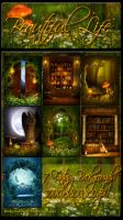 Beautiful Life Backgrounds by moonchild-ljilja