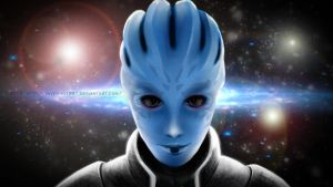 Asari, Mass Effect by Pistefix